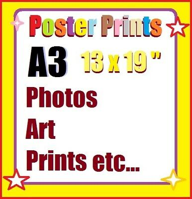 Poster - Photo Prints on Glossy Paper, Custom Art