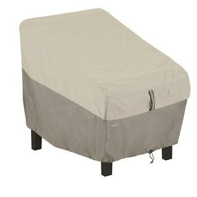 Classic Accessories Belltown High Back Chair Patio Furniture Storage Cover, Side