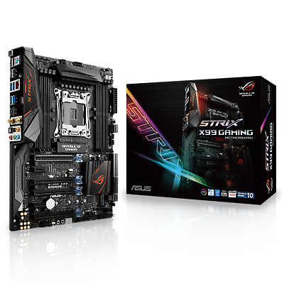 Motherboard ROG STRIX X99 GAMING - ASUS LGA2011 5-way Optimization SafeSlot ATX