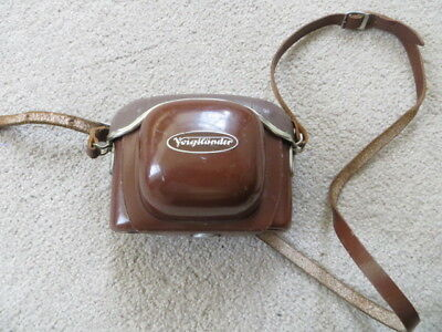 Vintage Vito Automatic Ii Camera In Leather Case