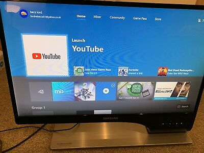 """Samsung Syncmaster S27A950D 27"""" 3D 1080p, 120hz 2ms, TN ,Rare Monitor RRP £600"""