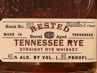Jack Daniels Rare Rested Tennessee Rye