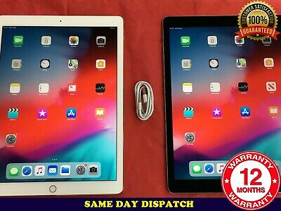 "GRADE B Apple iPad Pro 12.9"" 32GB 128GB 256GB WiFi 4G Retina Unlocked iOS 13"