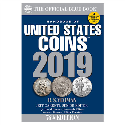 2019 Official Blue Book Handbook Of United States Coins, New With Free Shipping!