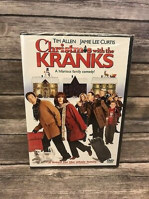 Christmas with the Kranks  (DVD, 2005, Widescreen / Full Screen) NEW Sealed