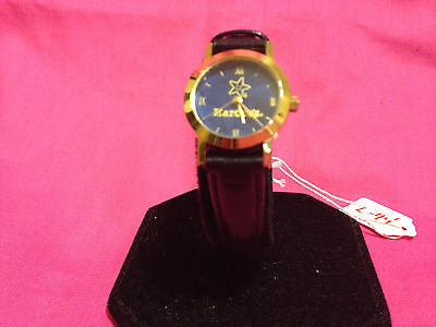 Collectible Hardies ladies watch,new old stock,super cool,new battery        L44