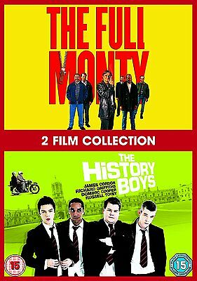 The Full Monty + The History Boys   Doublepack   [DVD] **Brand New **