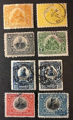 Haiti Stamp Lot#5 - Unchecked