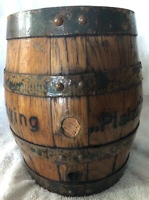 Antique Beer Barrel - Ayinger Brewery of Germany (Brauerei Aying) Platzl Munchen