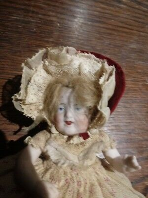 Exquisite Damaged Antique Porcelain Doll French?