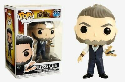 ULYSSES KLAUE - Funko Pop! Vinyl Figure Marvel Black Panther #387 SHIPS FAST