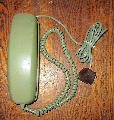 Vintage Green Slenderet Stromberg-Carlson Touch-Tone Telephone Untested