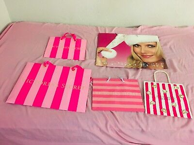 Lot Of 5 Victoria's Secret Shopping Bags