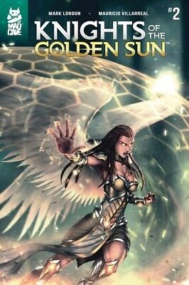 Knights of the Golden Sun #2. First Print. Near Mint+. FREE SHIPPING