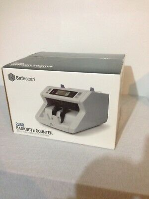 Safescan 2250 Banknote Counter & Detector Machine Automatic Ref 115-0561