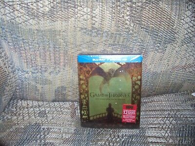 Game Of Thrones The Complete Fifth Season Blu Ray Dvd Set Season 5 New Sealed