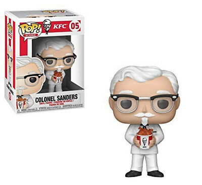 COLONEL SANDERS - Funko Pop! Ad Icons #05 KFC Kentucky Fried Chicken Pre-Order