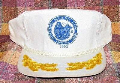 1993 International Tarpon Fishing Rodeo Grand Isle Baseball Cap