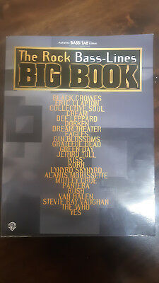 The Rock Bass-Lines Big Book Authentic Bass-Tab Edition 2001