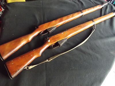 Ww2 Canadian Enfield Long Branch Training Dummy Rifle British Trainer Bayonet #4