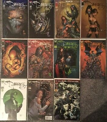 The Darkness 21 Comic Book Lot (1st And 2nd Series)