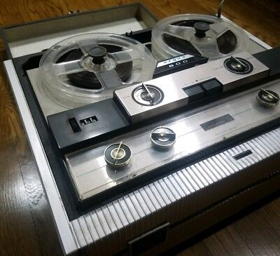 RARE Vintage Reel To Reel Tape Recorder Player Argus 800 Made In USA Chicago VTG