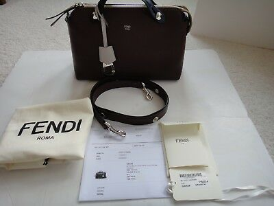 d8a9146bf89b FENDI BY THE Way Tri-color Leather Crossbody Bag - Medium Size ...
