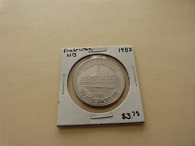 Fredericton Nb Trade Dollar 1983 Lot 172-L