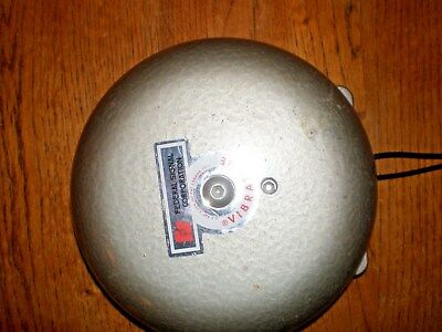 """Federal Signal Corp Vibratone®Bell 6"""" Diameter.  Model #A-6.  Free Shipping."""