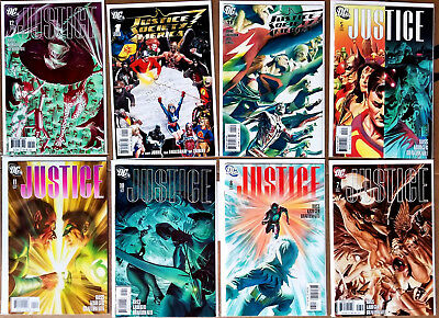 Grab Bag of 8 DC Comics Modern Age Justice & Justice Society ALL NM condition!!