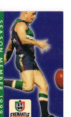 Fremantle Dockers 1999 Season Member Pass
