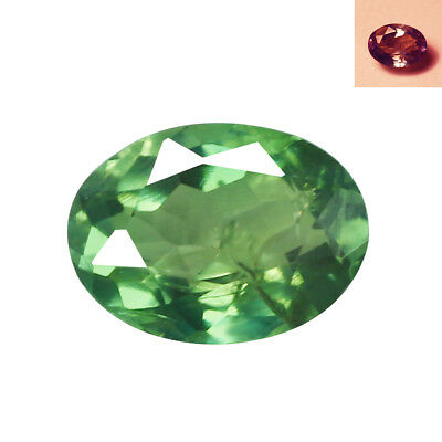 0.41Ct Marvelous Oval cut 5 x 4 mm Full Color Cahnge Natural Alexandrite
