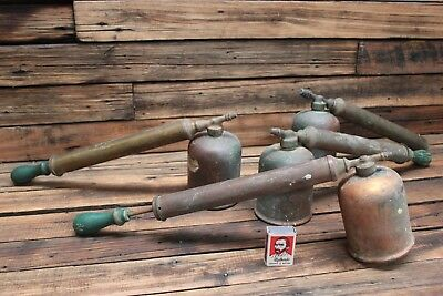 Vintage Brass Copper Fly Sprayer REGA Garden Old Tool