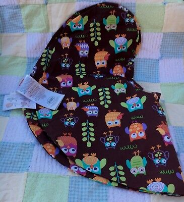 BOPPY Pillow Slipcover Cover Baby Feeding UNUSED no Package or Tags, OWL THEME