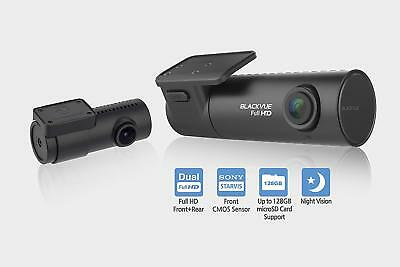 BlackVue DR590-2CH Full HD Dual Lens Dashcam Sony Starvis 64GB Front Rear Camera