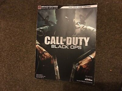 Call Of Duty Black Ops Large Strategy Guide Book Ps3 Xbox 360 Pc Bradygames