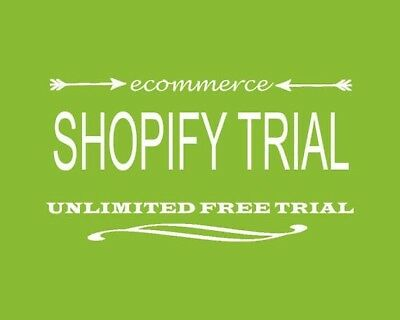 Free Unlimited Shopify Trial | No Credit Card Needed