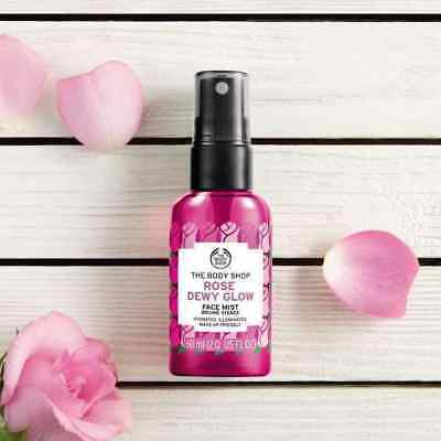 Body Shop - Rose Dewy Glow Face Mist