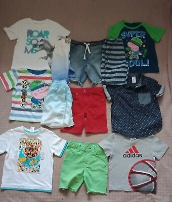 Boys Clothes Size 3 Bulk ..Pack With 12 Items Inc Gap And Adidas