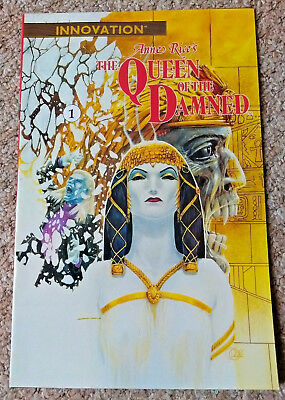 ANNE RICE'S QUEEN OF THE DAMNED # 1 (1991) INNOVATION NM Condition