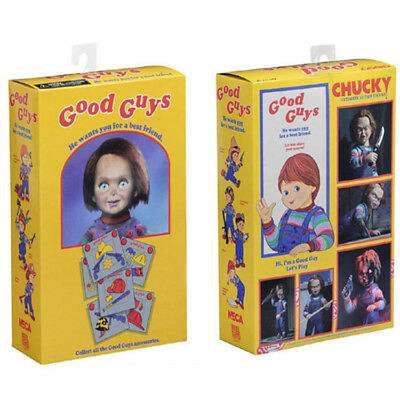 """1:12 Scale Chucky Doll Ultimate Action Figure Good Guy Toys Child's Play 6"""""""