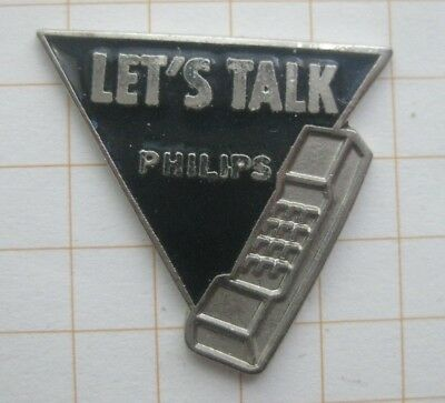 PHILIPS / LET`S TALK ABOUT ......................... Handy Pin (179e)