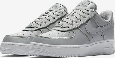 hot sale online a1953 c2b16 Women s Nike Air Force 1 Low Glitter Grey Wolf Trainers At0073-002
