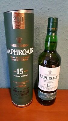 Laphroaig 200 Years of Laphroaig 15 Years Limited Edition, Islay 43% Vol