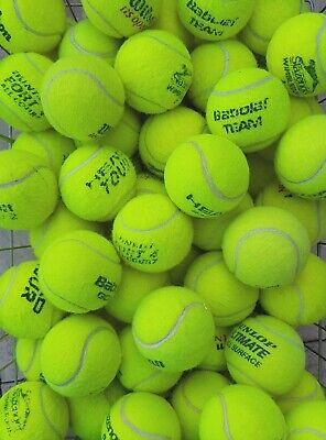 30 Used Tennis Balls - GOOD CONDITION - Ball Games / Dog Toy -Washed & Sanitised