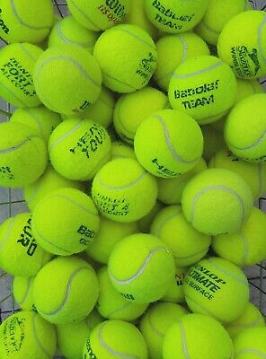 30 Used Tennis Balls- VERY GOOD CONDITION- Ball Games / Dogs - Machine Washed