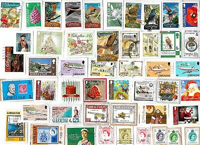 GIBRALTAR - Kiloware Selection of Stamps - Approx 11 grams