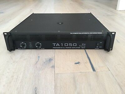 The t amp MK-X TA1050 Endstufe