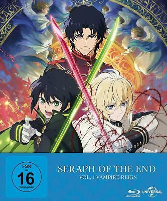 blu-ray Seraph of the End: Vampire Reign (Ep. 1-12) - Vol. 1 Limited Edition