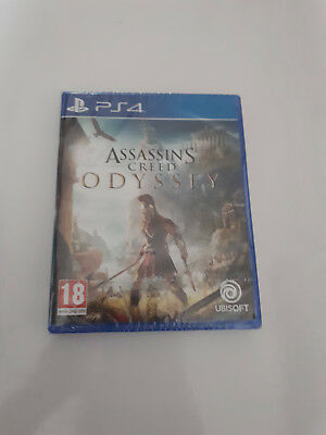 PS4 Assassin's Creed Odyssey, neuf encore sous blister